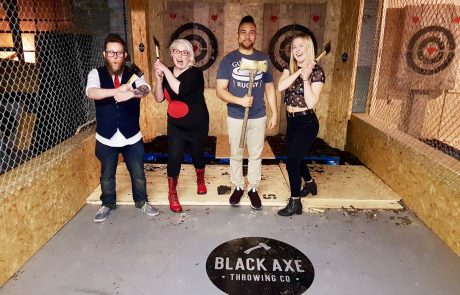 Black Axe Throwing