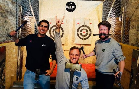 Black Axe Throwing Citizen Ticket guys