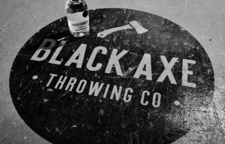 Black Axe Throwing Axe logo
