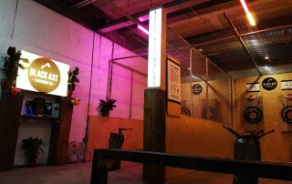 Black Axe Throwing Dungeon Venue