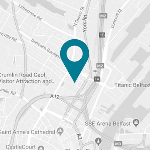 Black-Axe-Throwing-Location-Map-Belfast